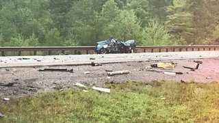2 Injured In Wrong-Way, Head-On Crash
