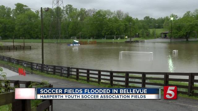 Soccer Fields Flooded In Bellevue