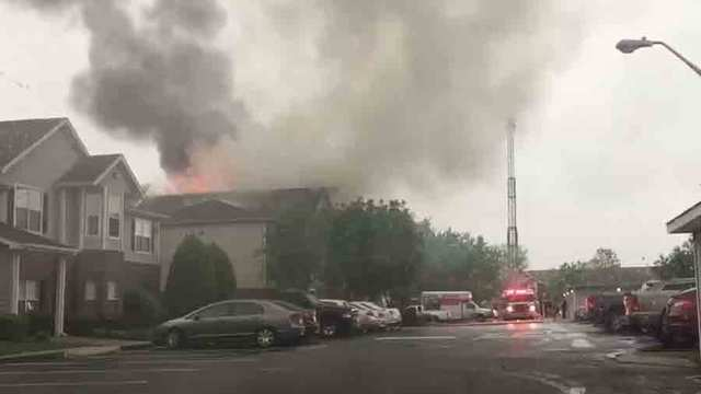 Viewer Captures Video At Scene Of Murfreesboro Apartment Fire