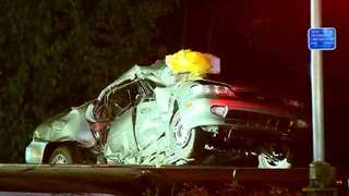 Man Hurt In Crash With Train, Car In Bellevue