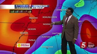 Lelan's Forecast: Monday, April 24, 2017