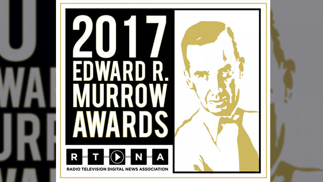 WBAL Receives Murrow Awards For Breaking News, Commentary