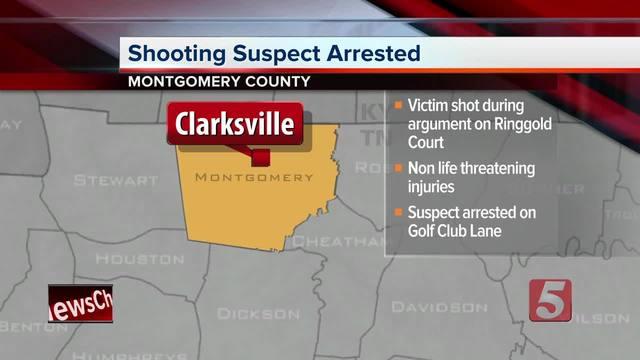 Arrest Made In Clarksville Shooting That Injured 1