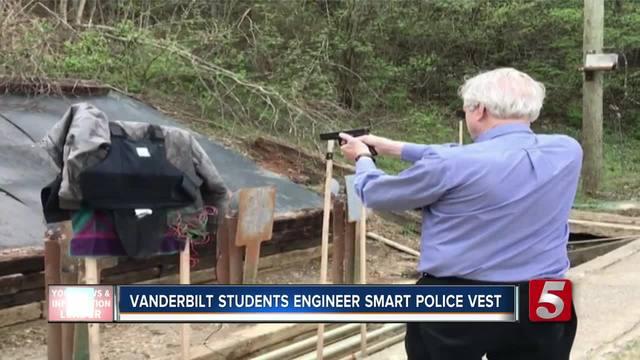Vanderbilt Students Create Smart Police Vest