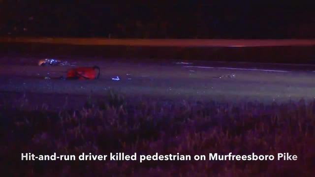 Police Look For Driver In Fatal Hit---Run Crash