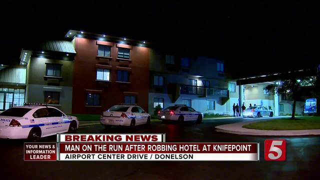 Police Search For Donelson Hotel Robber