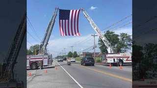 Memorial Service Held For Specialist Tomlin