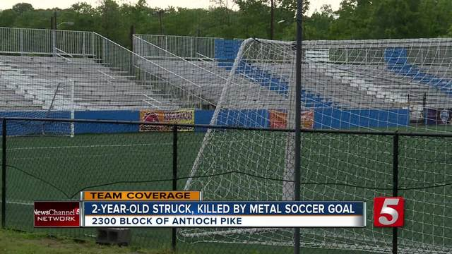 2 Year Old Struck, Killed By Metal Soccer Goal