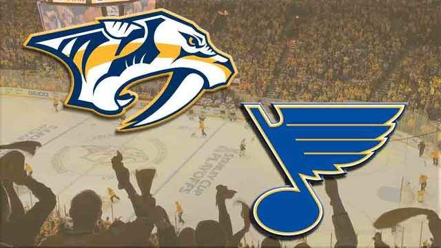 Jaskin, Schwartz score as Blues beat Predators 2-1