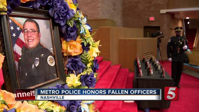 State trooper who led procession added to NY police memorial