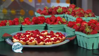 Portland Strawberry Festival's Mini-Berry Tarts