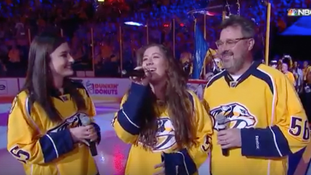 National Hockey League anthem singer miffed over snub for Carrie Underwood