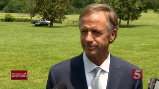 Governor Stands By Insurance Commissioner