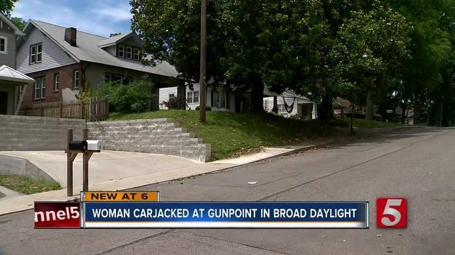 East Nashville Woman Carjacked At Gunpoint