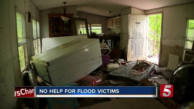Flood Victims With No Insurance Struggling