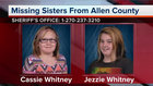 Kentucky Sisters Reported Missing