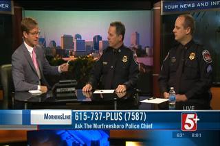 MorningLine- Ask the Murfreesboro Police...