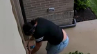 Thief Steals Package Moments After Delivery