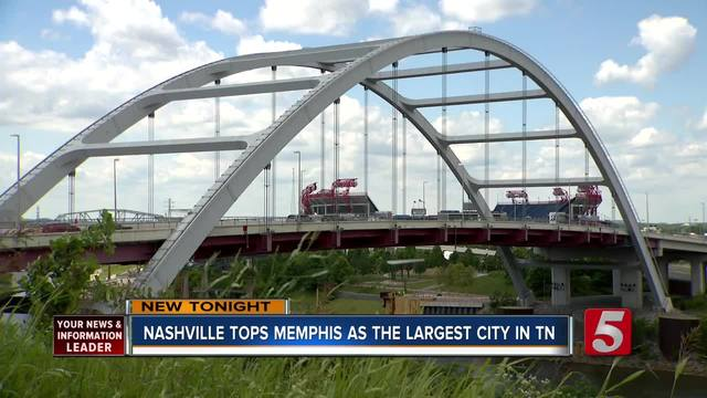 Nashville Tops Memphis As Largest City In Tennessee