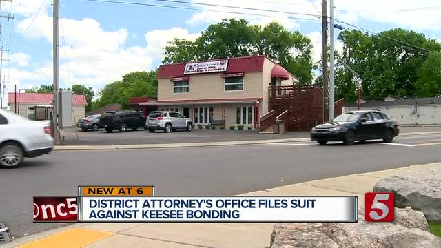 District Attorney-s Office Files Suit Against Clarksville Bonding Company