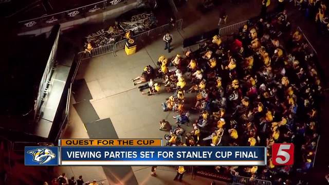 Schedule- Locations Released For Preds Viewing Parties