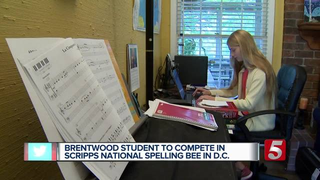 Local Teen Heads To National Spelling Bee