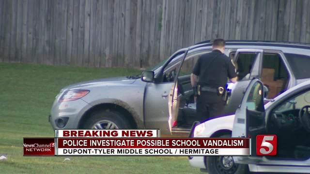 Bullet-Ridden SUV Found Near Hermitage School