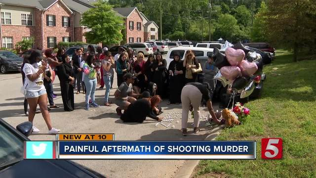 Vigil Held For Woman Killed In Parking Lot