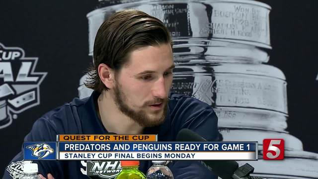 Stanley Cup Final Media Day- The Preds Are Here-