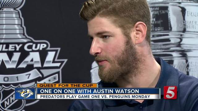 Steve Speaks One On One With Austin Watson