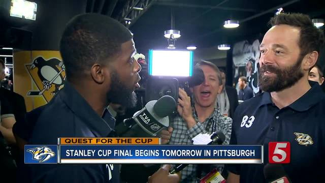 P-K- Subban Takes Over Steve Layman-s Interview