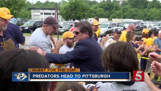 Preds Preparing For Game 1 Of Stanley Cup Final