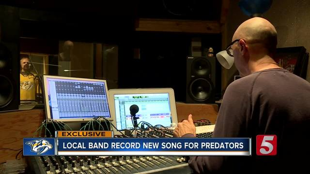 Music City Rockers Record Song For Preds