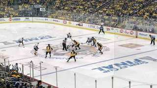 Predators Battle Back, But Fall 5-3 In Game One