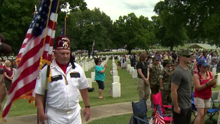 Cemetery Memorial Day Draws Large Crowd