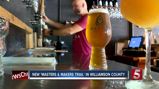 Franklin Unveils Master and Makers Trail- Connecting Breweries-…
