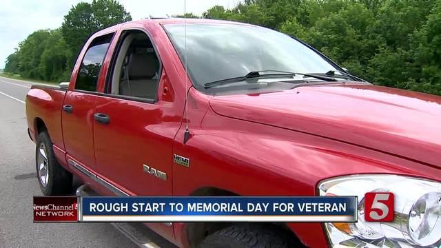 Veteran-s Truck Stolen- Police Chase Ensues
