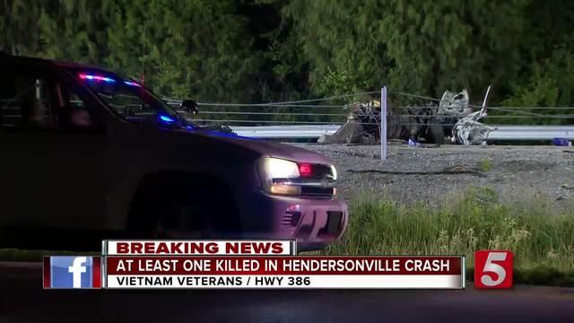 1 Killed In Memorial Day Crash In Hendersonville