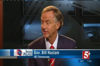 Inside Politics: Gov. Bill Haslam