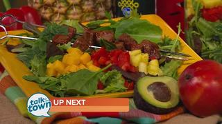 Karman Meyer's Tropical Hoisin Steak Salad
