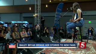 Bailey Bryan Looks To Shine At CMA Music Fest
