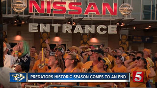 Season Comes To Heartbreaking End For Preds Fans