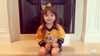 3-Year-Old Gives Perspective On Preds Loss