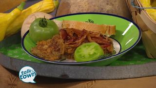 Trace Barnett's Fried Green Tomato Sandwich