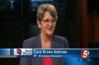 Inside Politics: Carol Brown Andrews
