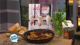 Edible Nashville's Chicken with Cherry Tomatoes