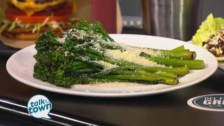 Del Frisco's Grille's Lemon Parmesan Broccolini