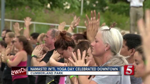 Nashville Celebrates International Day Of Yoga