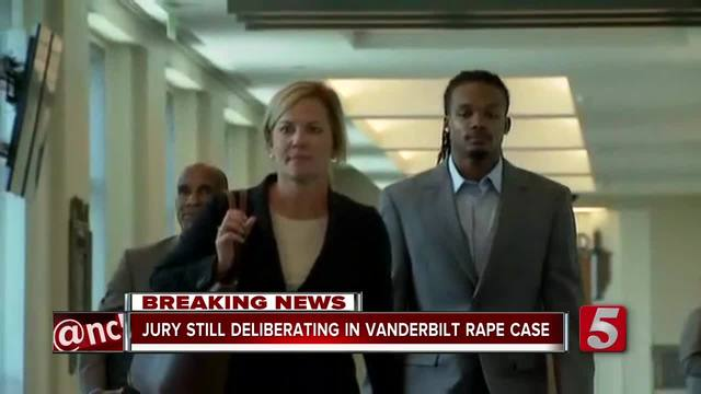Jury Resumes Deliberations In Vanderbilt Rape Trial