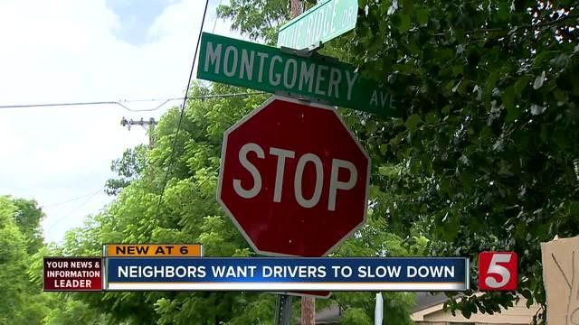 E- Nashville Neighbors Concerned About Speeding